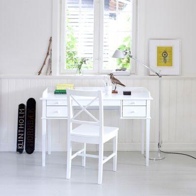 Oliver Furniture Schreibtisch Seaside Weiß
