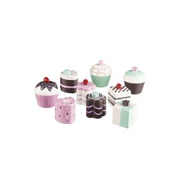 Kids Concept 9er Set Pralinen & Cupcakes