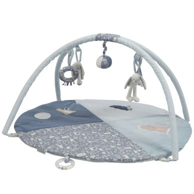 Little Dutch Activity-Krabbeldecke Hase Rund Adventure Blue