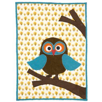 ferm LIVING Owl gequiltete Decke