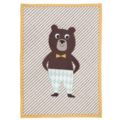 ferm LIVING Bear gequiltete Decke