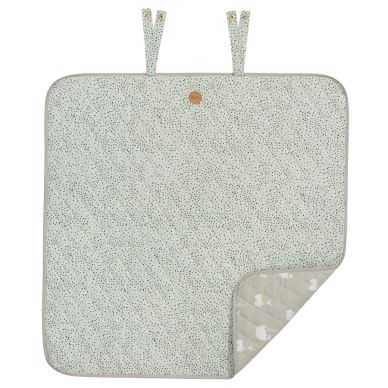 ferm LIVING Mint Dot Wickel-Decke