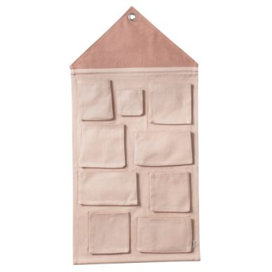 ferm LIVING Wand-Organizer House Rose