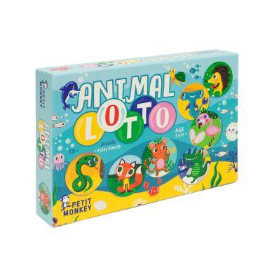 Petit Monkey Lotto-Spiel Tiere