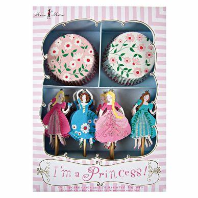 Meri Meri Prinzessinnen Cupcake Set