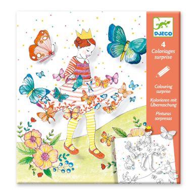 Djeco Malbuch Fräulein Schmetterling
