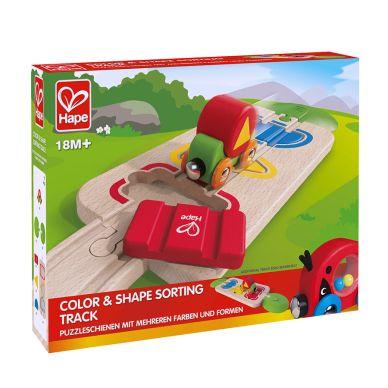 Hape Puzzleschiene Farben und Formen