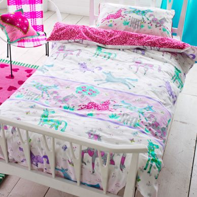 Designers Guild Kinderbettwäsche Horsing Around
