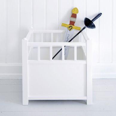 Oliver Furniture Aufbewahrungskasten Cube Weiß