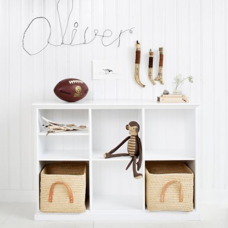 Oliver Furniture Regal Seaside Weiß