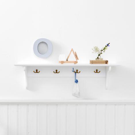 Oliver Furniture Wandregal Weiß 90 cm