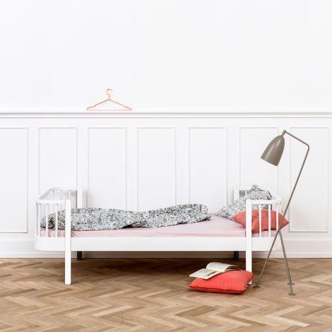 Oliver Furniture Einzelbett Wood Weiß