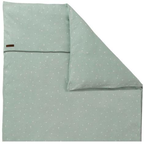 little dutch kinderwagen kissenbezug 80x80 little stars mint online kaufen emil paula kids. Black Bedroom Furniture Sets. Home Design Ideas