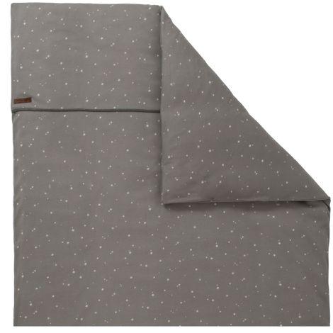 little dutch kinderwagen kissenbezug 80x80 little stars grey online kaufen emil paula kids. Black Bedroom Furniture Sets. Home Design Ideas