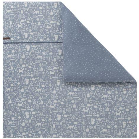 little dutch kinderwagen kissenbezug 80x80 adventure blue online kaufen emil paula kids. Black Bedroom Furniture Sets. Home Design Ideas