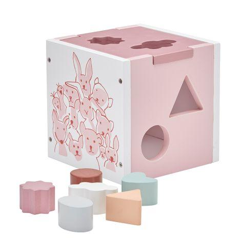 Kids Concept Steckspiel Edvin Rosa