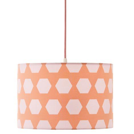 Kids Concept Deckenlampe Hexagon Apricot •