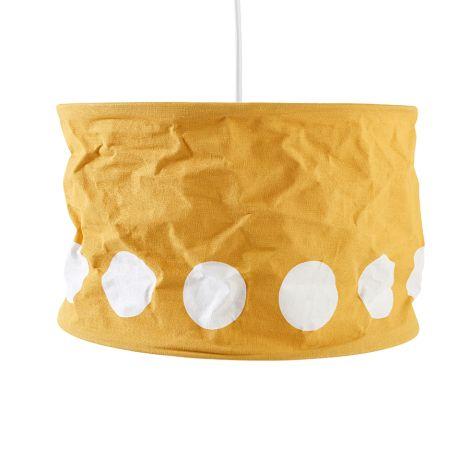 Kids Concept Lampenschirm Dot Gelb