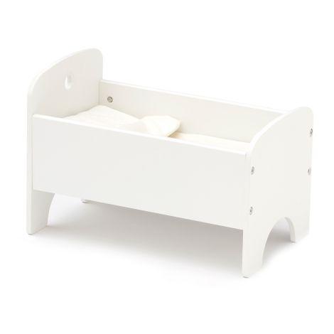 Kids Concept Puppenbett inkl. Bettwäsche Weiß