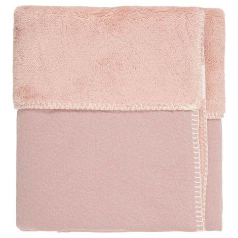 Koeka Kinderdecke Runa Teddy Old Pink