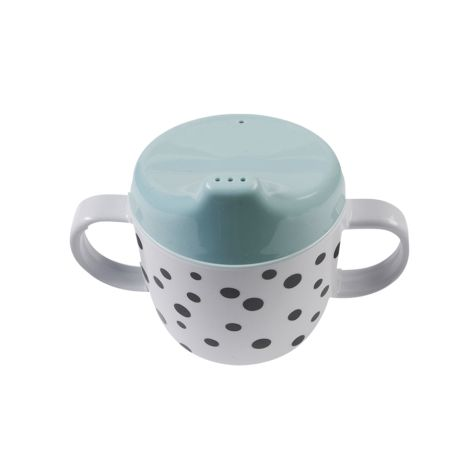Done by Deer Schnabeltasse Dots Blau