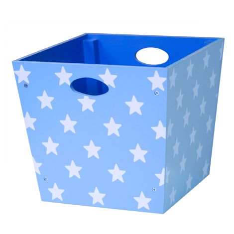 Kids Concept Holz-Spielzeugbox Star Blau
