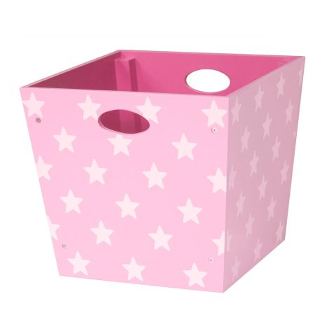 Kids Concept Holz-Spielzeugbox Star Rosa
