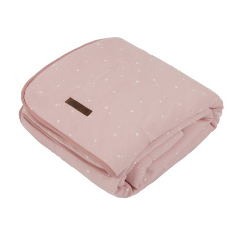 Little Dutch Wiegedecke Pure & Soft Little Stars Pink