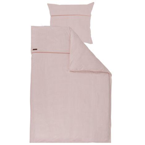 Little Dutch Einzel-Bettbezug Pink Waves 135x200