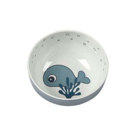 Done by Deer Schüssel Yummy Mini Sea Friends Blau