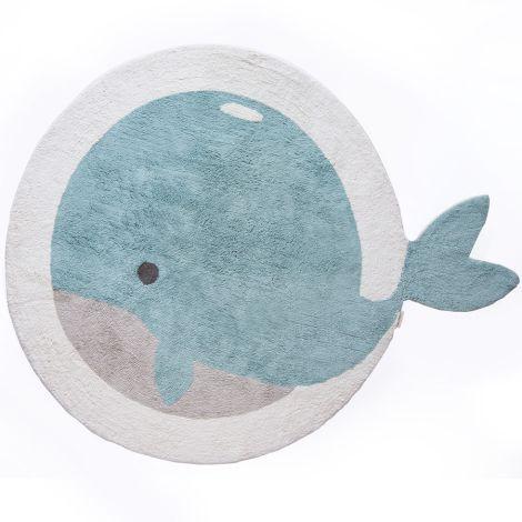 Minividuals Teppich Wal