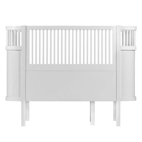 Sebra Bett Baby & Junior Weiß