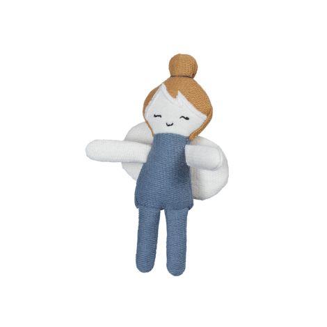Fabelab Püppchen Pocket Friend Fairy Blue Spruce Bio-Baumwolle