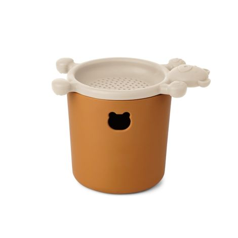 LIEWOOD Sandspielzeug Bastian Mini-Set Mustard/Sandy Mix