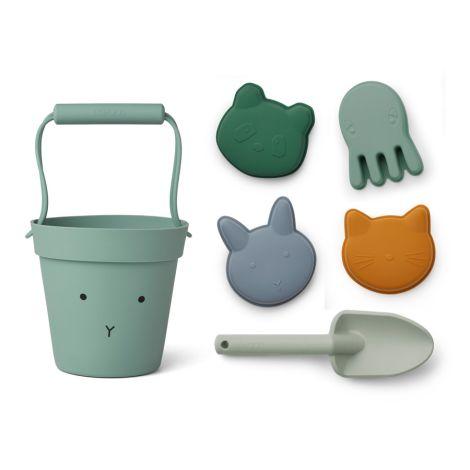 LIEWOOD Sandspielzeug Dante  Rabbit Peppermint Multi Mix
