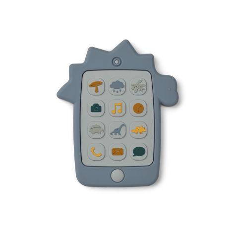 LIEWOOD Spielzeug Telefon Thomas Dino Blue Wave