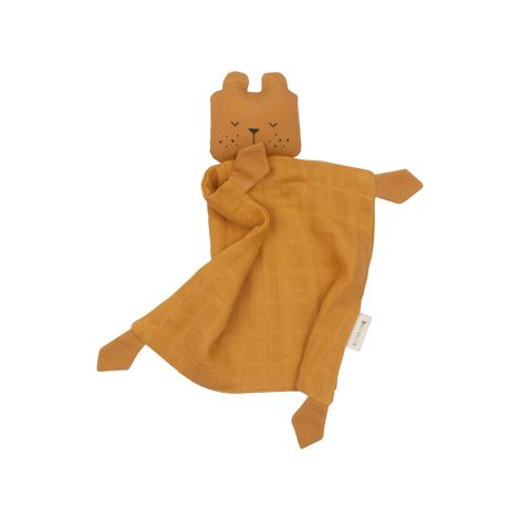 Fabelab Animal Cuddle Bear- ochre Bio-Baumwolle