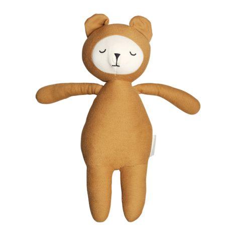Fabelab Kuscheltier Buddy Bear Bio-Baumwolle