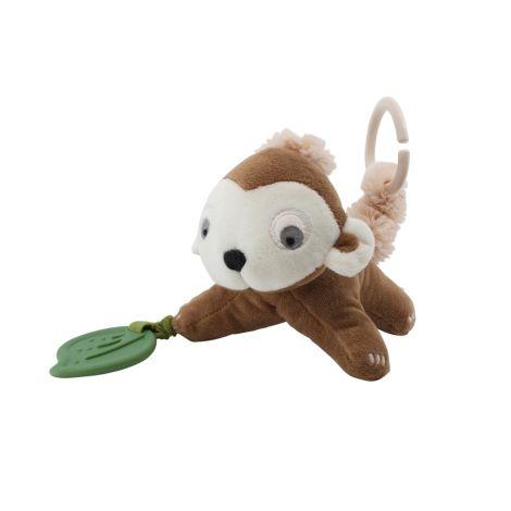 Sebra Activity-Spielzeug Maci der Affe Almond Brown
