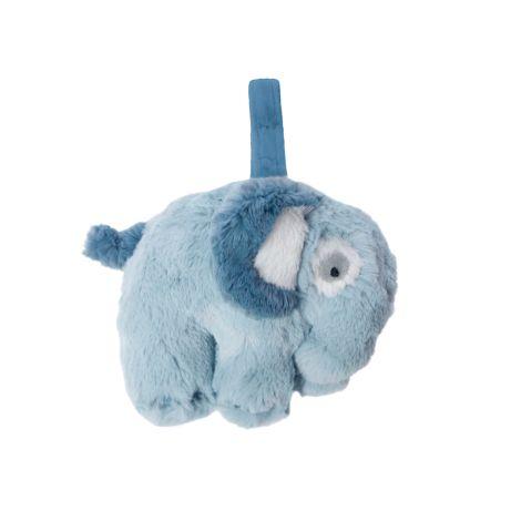 Sebra Plüsch-Spieluhr Elephant Wolkenblau