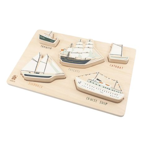Sebra Puzzle aus Holz Seven Seas