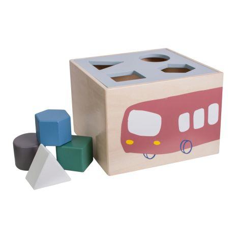 Sebra Formen-Steck-Spiel Little Driver Holz •