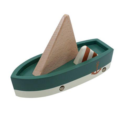 Sebra Motorboot aus Holz