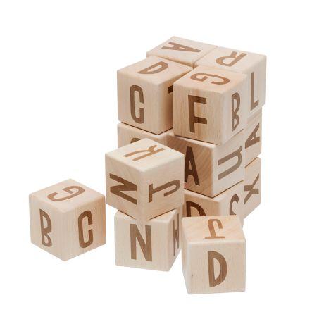 Sebra Buchstabenblöcke aus Holz 16 Stck.