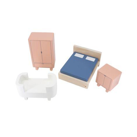 Sebra Schlafzimmer für das Sebra Puppenhaus