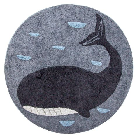 Sebra Teppich gewebt Whale