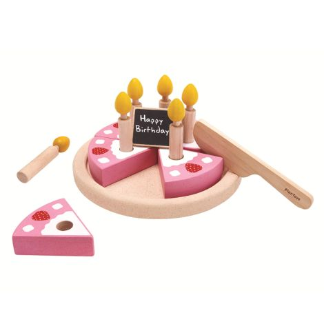 PlanToys Geburtstagskuchen-Set