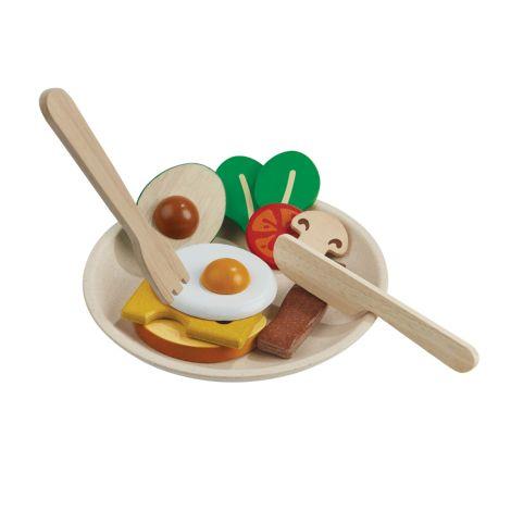 PlanToys Frühstück-Set 12-teilig