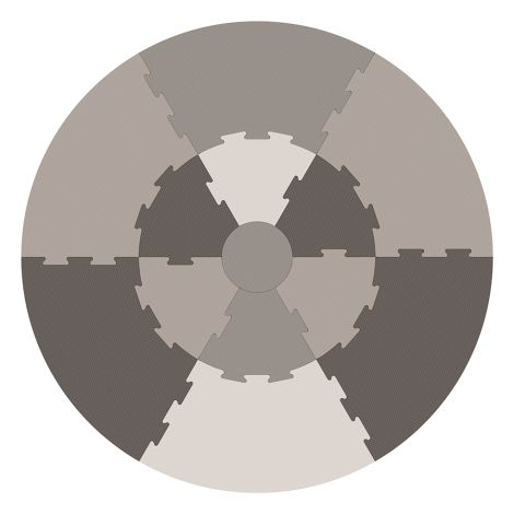 Sebra Spielmatte Warm Grey