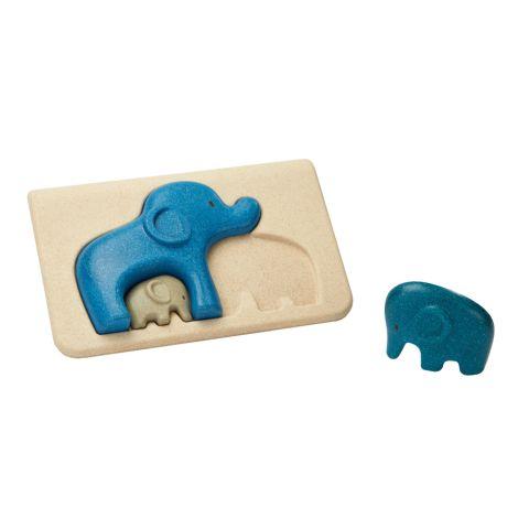 PlanToys Puzzle Elefanten